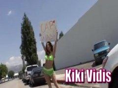 Hot Redhead Kiki Vidis gets fucked hard!