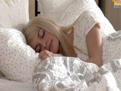 Petite blond teen Elena...