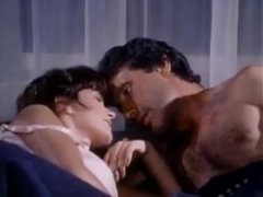 Retro sex with a beautiful girl in lingerie