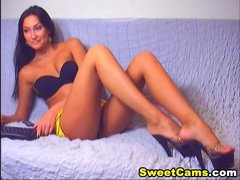 Taut Clean Shaved Pussy HD