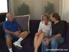 Lustful Swinger Wife Is Screwed!