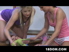 Female domination shenanigans at its finest with hawt slutty boxers