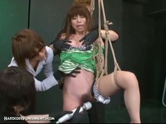 Japanese thraldom sex with extraordinary bdsm torment