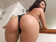Charley Pursue has her slit stretched with a big cock