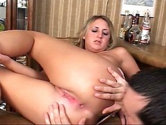 Blonde legal age teenager slut sizzling drilling desires