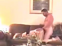 This may be a short clip but it's jam packed with a lot of thrusting and fucking. The concupiscent dude doesn't stop the flow of his pounding untill he can't pound no more. See him in action and with a lot of energy!