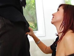 Hungry mature is eager to get mouth and whoppers screwed hard