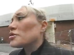 Young Lad Seduce A Busty Mom In The Street And Fuck Her
